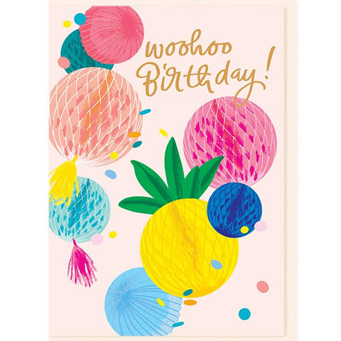 Colourful Party Decorations Card - insideout-home