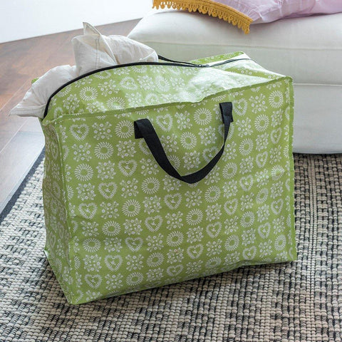 Green Friendship Jumbo Storage Bag - insideout-home