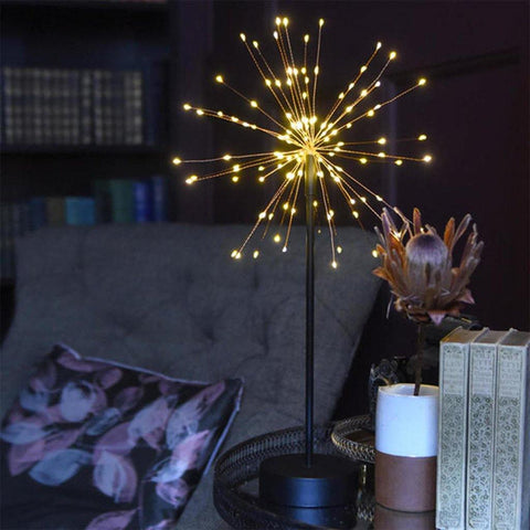 Table Starburst Light 30cm Copper - insideout-home