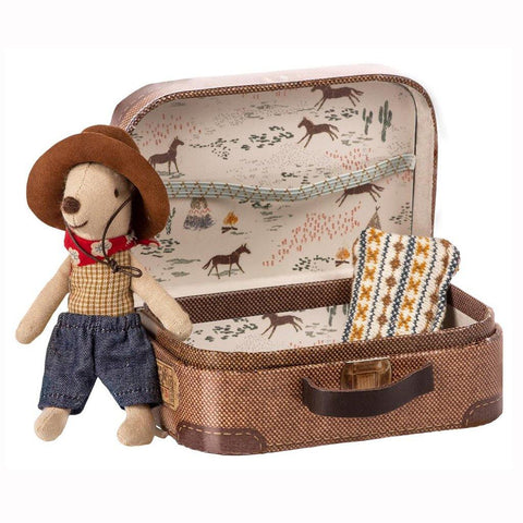 Cowboy In Suitcase, Little Brother Mouse insideout-home.myshopify.com