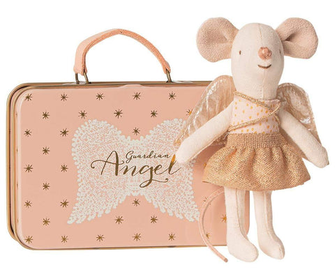 Guardian Angel In A Suitcase Little Sister Mouse - insideout-home