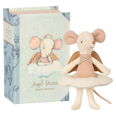 Angel Mouse, Big Sister In Book - insideout-home