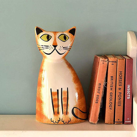 Cat Money Box Ginger - insideout-home