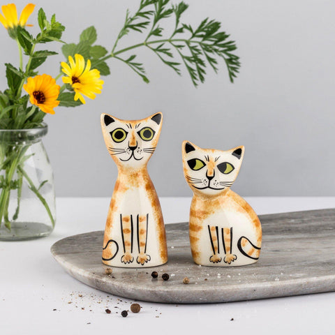 Ginger Cat Salt and Pepper Set - insideout-home