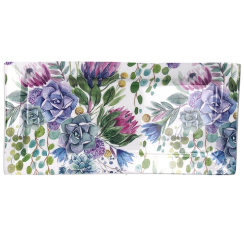 Desert Blooms Rectangular Plate - insideout-home