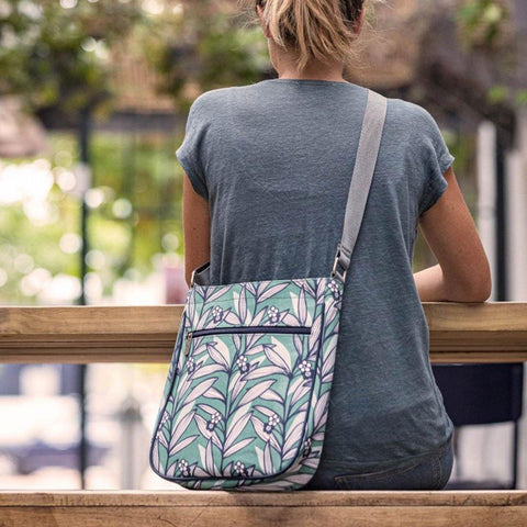 Wildflower Green Large Crossbody Bag - insideout-home