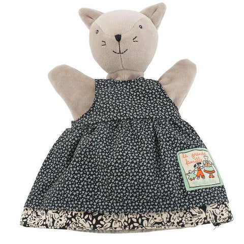 Agathe The Cat Hand Puppet - insideout-home