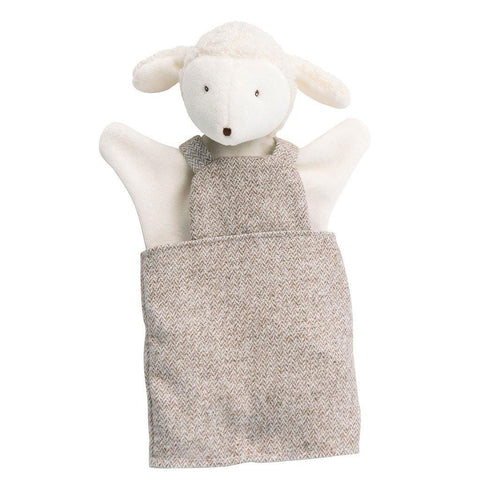 Albert The Lamb Hand Puppet - insideout-home