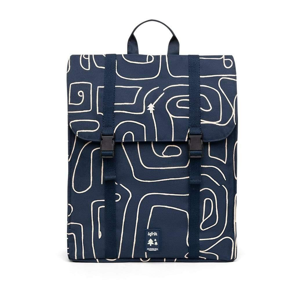 Handy Graphic Navy Backpack, Luggage & Bags by Insideout