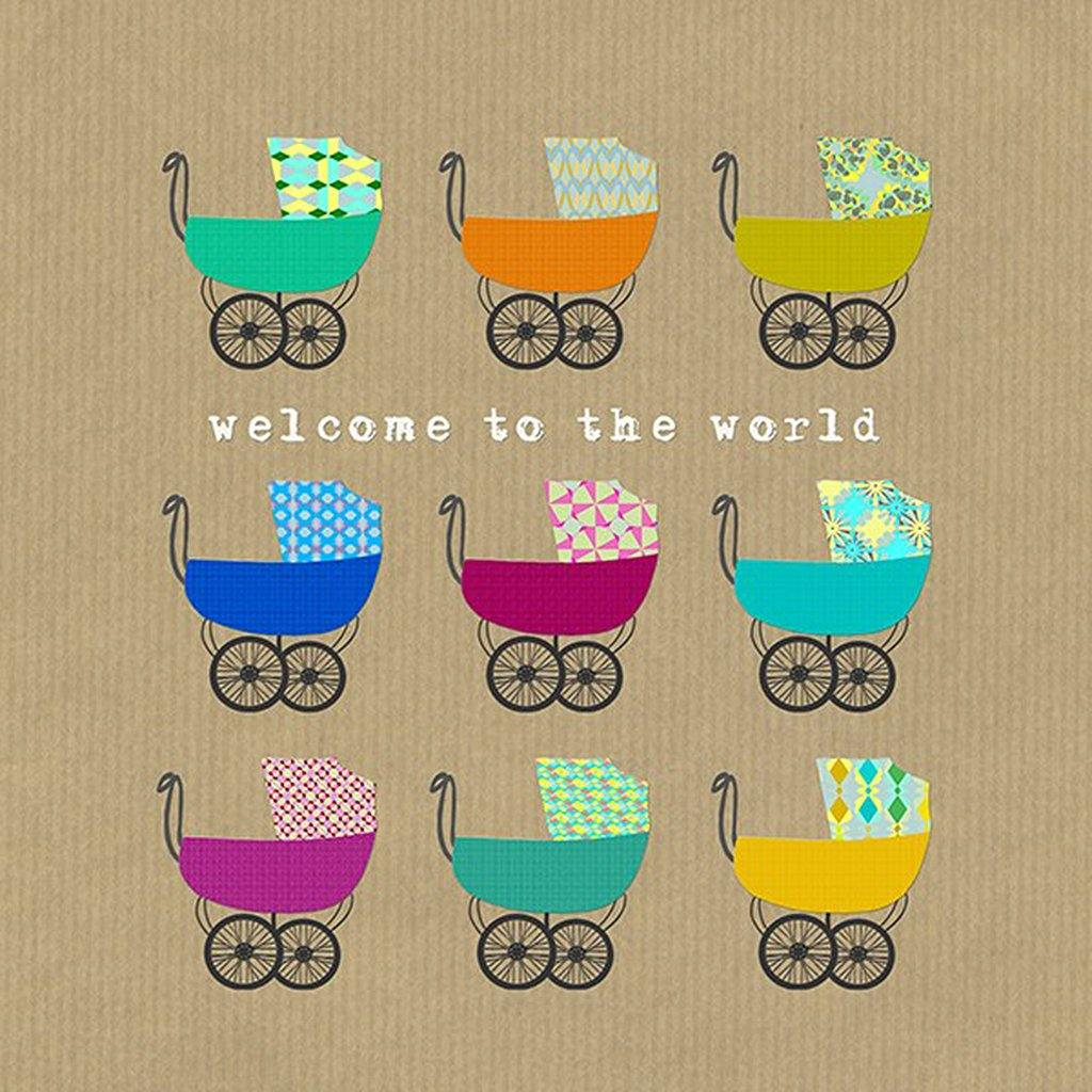 Welcome To The World Card by  Insideout