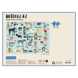 Hot Dogs A-Z 1000 Piece Jigsaw Puzzle - insideout-home