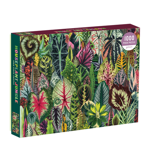 Houseplant Jungle 1000 Piece Jigsaw Puzzle - insideout-home