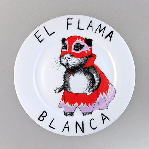 El Flama Side Plate - insideout-home