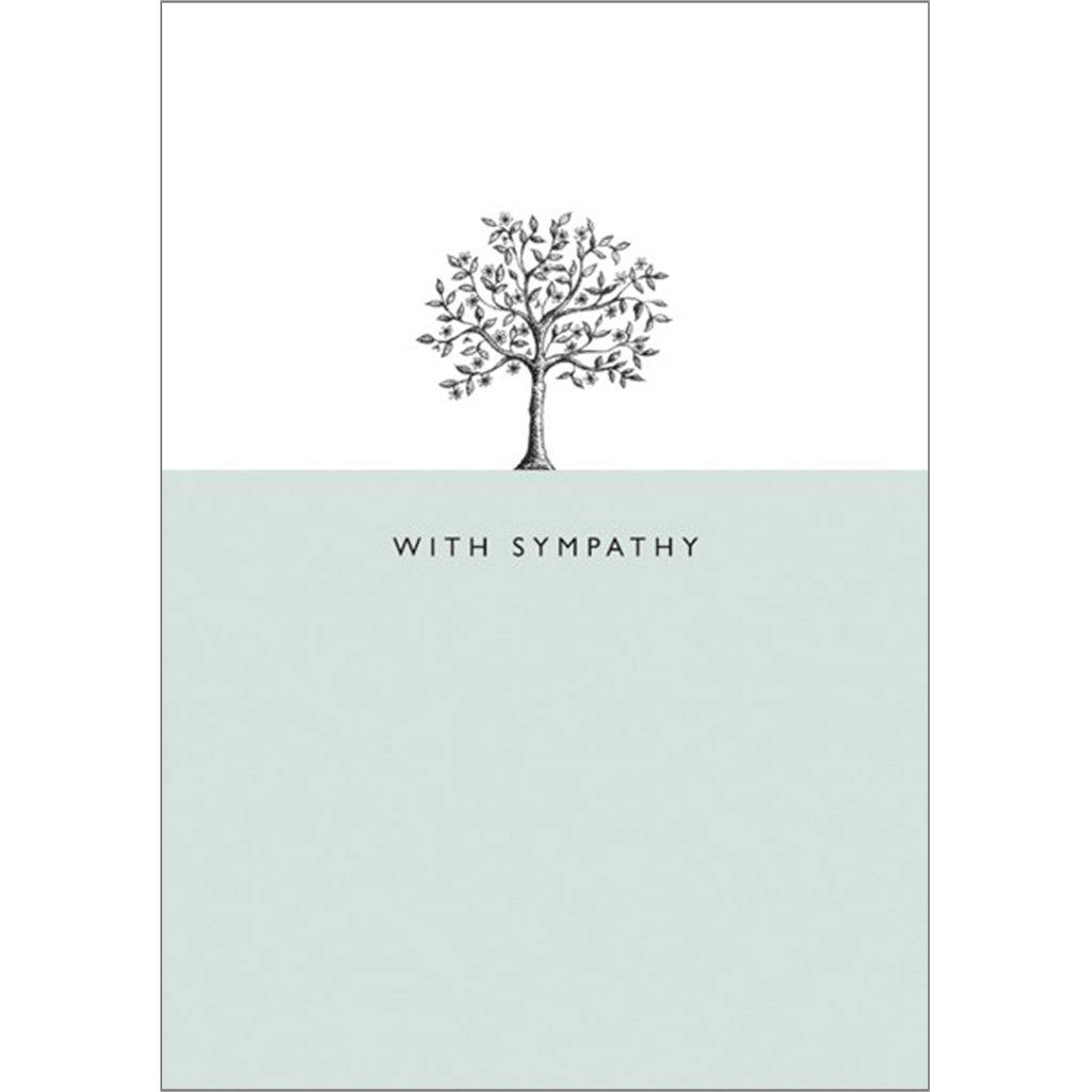 With Sympathy Card by  Insideout