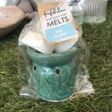 eco soya wax melts & burner set small - insideout-home
