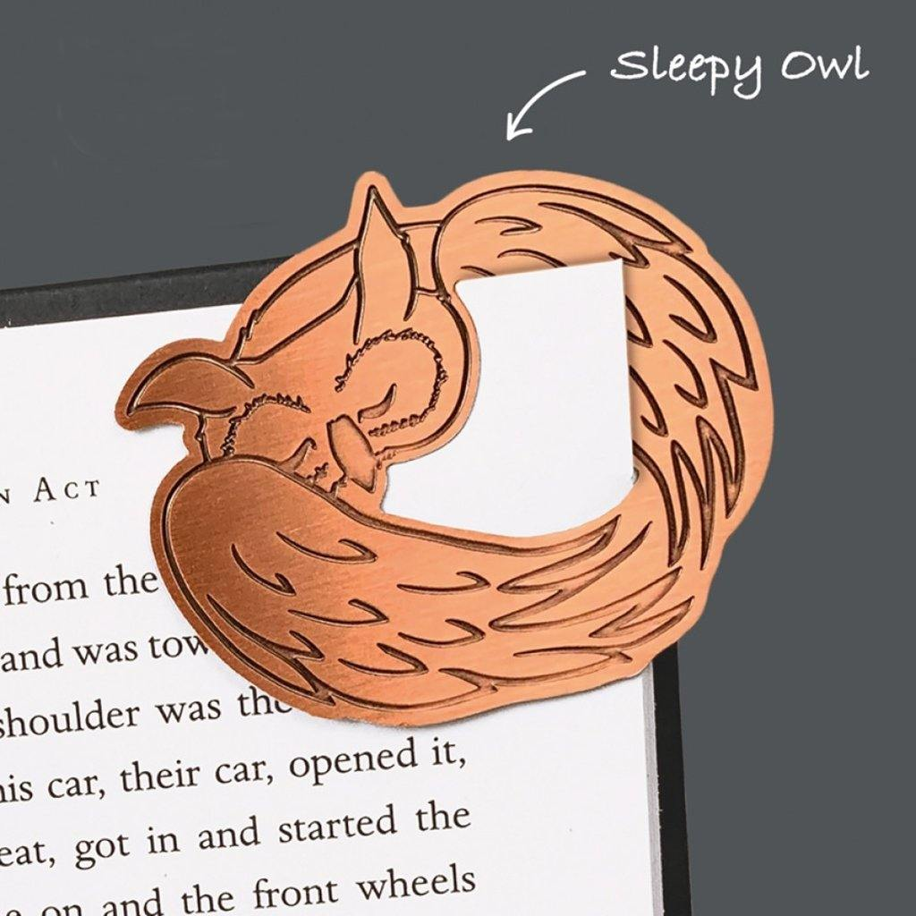 Curled Up Corners Bookmarks Drowsy Dog by  Insideout