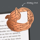 Curled Up Corners Bookmarks Drowsy Dog - insideout-home