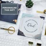 Personalised Dad, Reasons Why Book - insideout-home