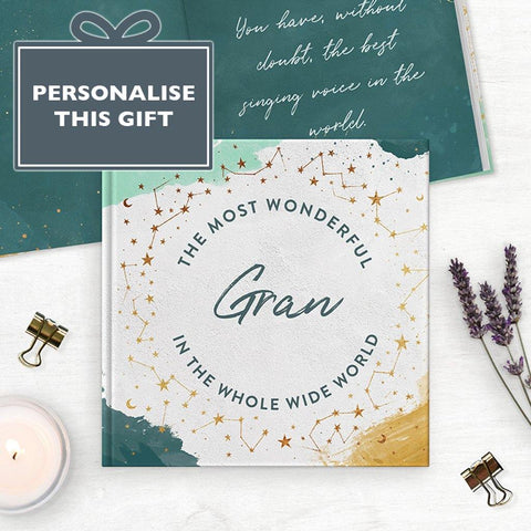 Personalised Grandmother, Reasons Why Book - insideout-home