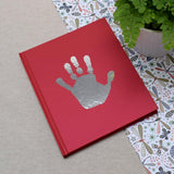 Personalised Foil Blocked Handprint Notebook - insideout-home