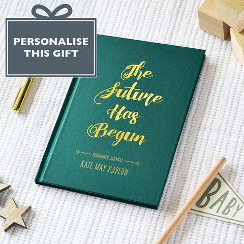 Personalised Foil Blocked The Future Has Begun - insideout-home