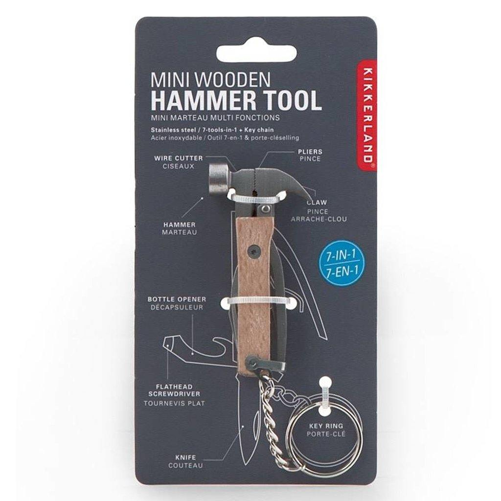Wood Mini Hammer Tool by  Insideout
