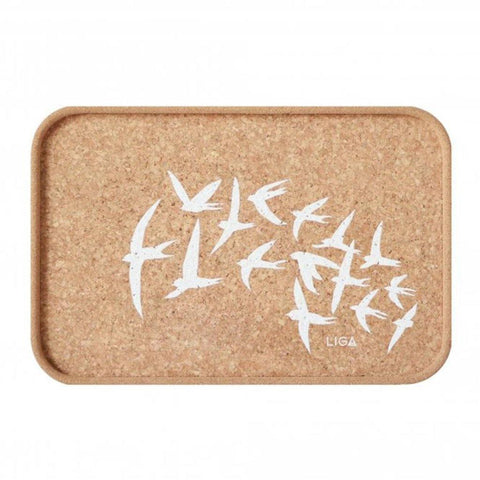 Cork Swallows Tray - insideout-home