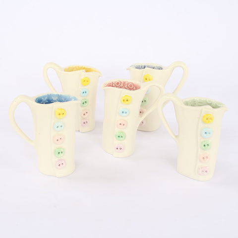 Mini Porcelain Button Jug - insideout-home