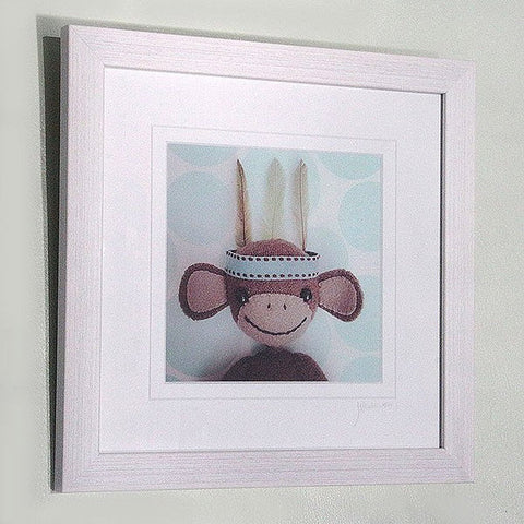 monkey business handmade print - Monkey Business (just mounted) - insideout-home