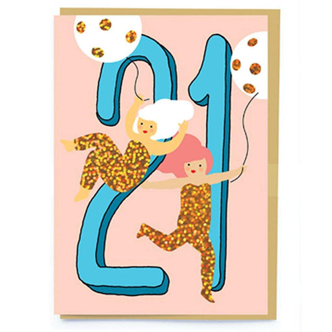 Age 21 Card - insideout-home