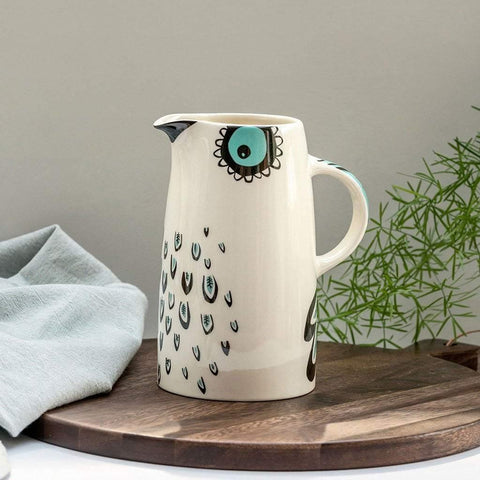 Owl Tall Jug - insideout-home
