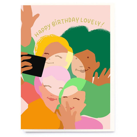 Birthday Selfie Card - insideout-home