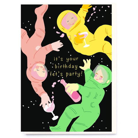 Space Party Card - insideout-home