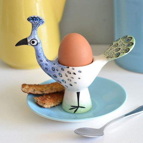 Peacock Egg Cup - insideout-home