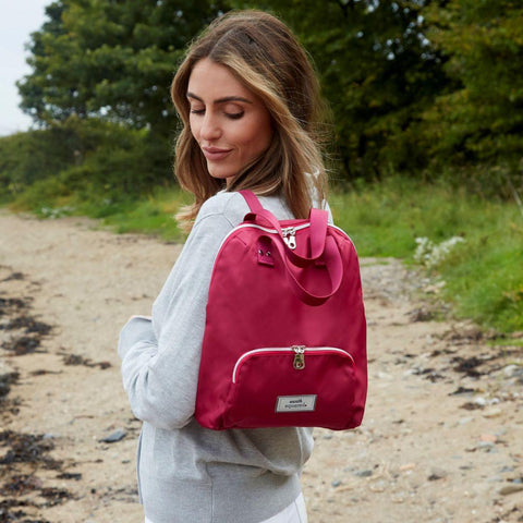 Small Voyage Backpack Pink - insideout-home