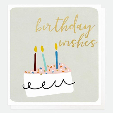 Birthday Wishes Cake Card - insideout-home