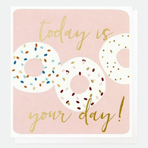 Today Is Your Day Donuts Card - insideout-home