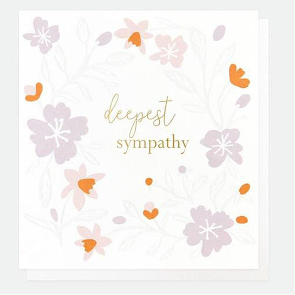 Deepest Sympathy Card, Greeting & Note Cards by Insideout