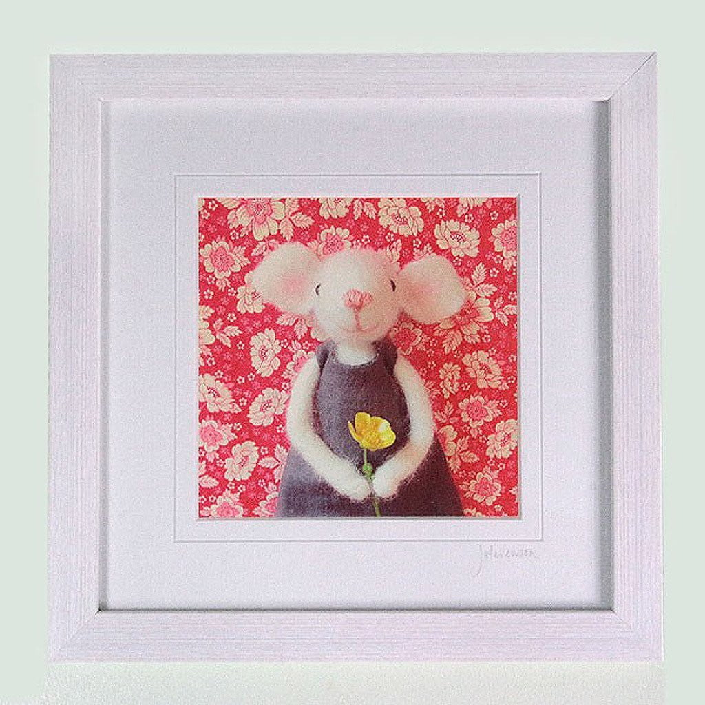 pretty in pink handmade prints - Pretty in Pink (just mounted) by  Insideout