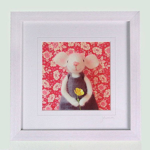 pretty in pink handmade prints - Pretty in Pink (just mounted) - insideout-home