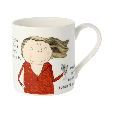 Maybe She's Born With It Mug - insideout-home