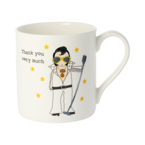 Elvis! Thank You Very Much Mug - insideout-home