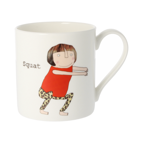 Squat, Diddly Squat Mug - insideout-home