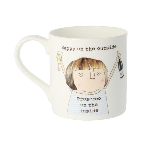 Prosecco On The Inside Mug - insideout-home