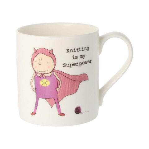 Knitting Is My Superpower Mug - insideout-home