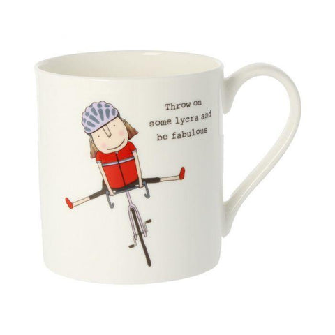 Throw On Some Lycra And Be Fabulous Mug - insideout-home
