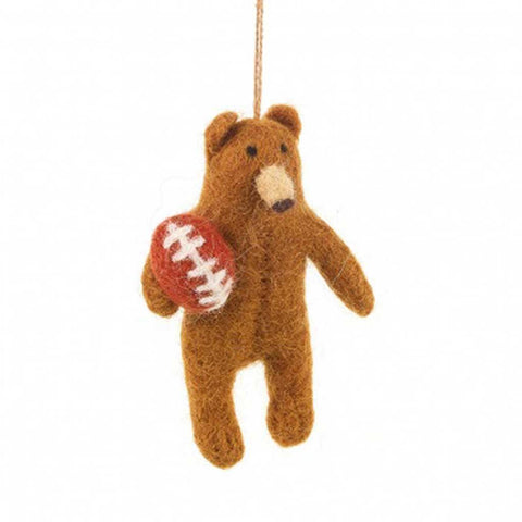 Rugby Bear Hanging - insideout-home