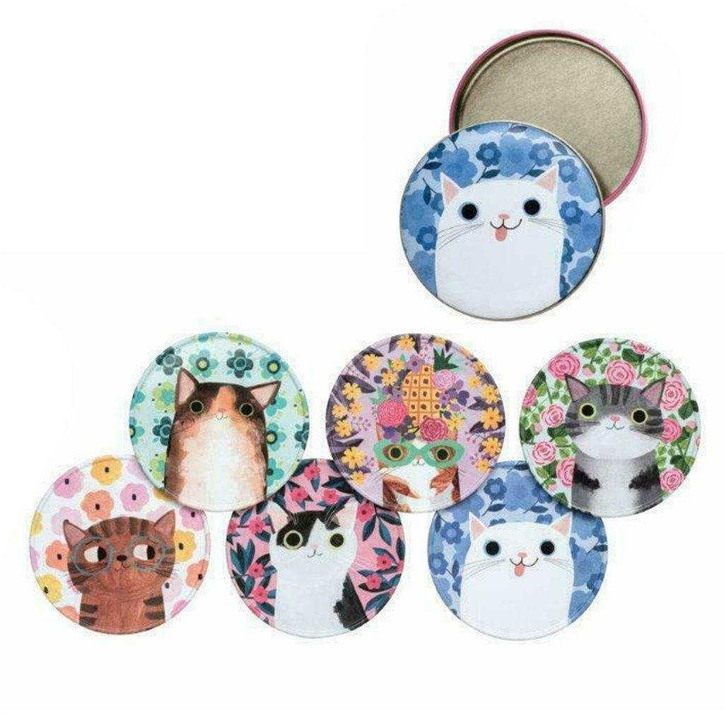 Planet Cats Coasters Set Of 6 In A Tin by  Insideout