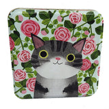 Planet Cat Square Tins - insideout-home