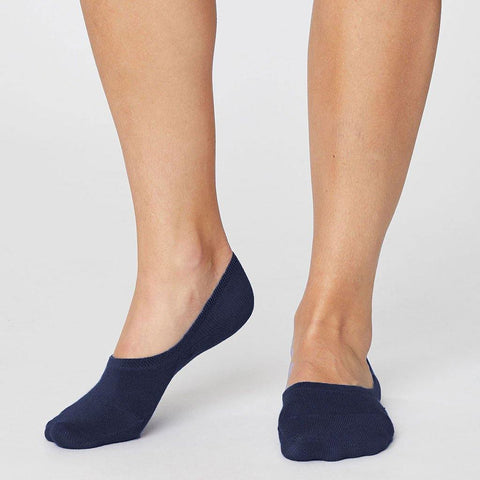 No Show Womens Socks Navy - insideout-home